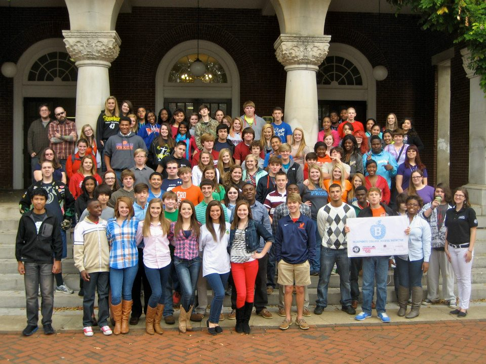 Montevallo High School 9th graders visited the University of Montevallo.