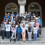40 MHS juniors visited UM&#039;s campus, participated in college classes, and celebrated their graduation from Blueprints on April 15